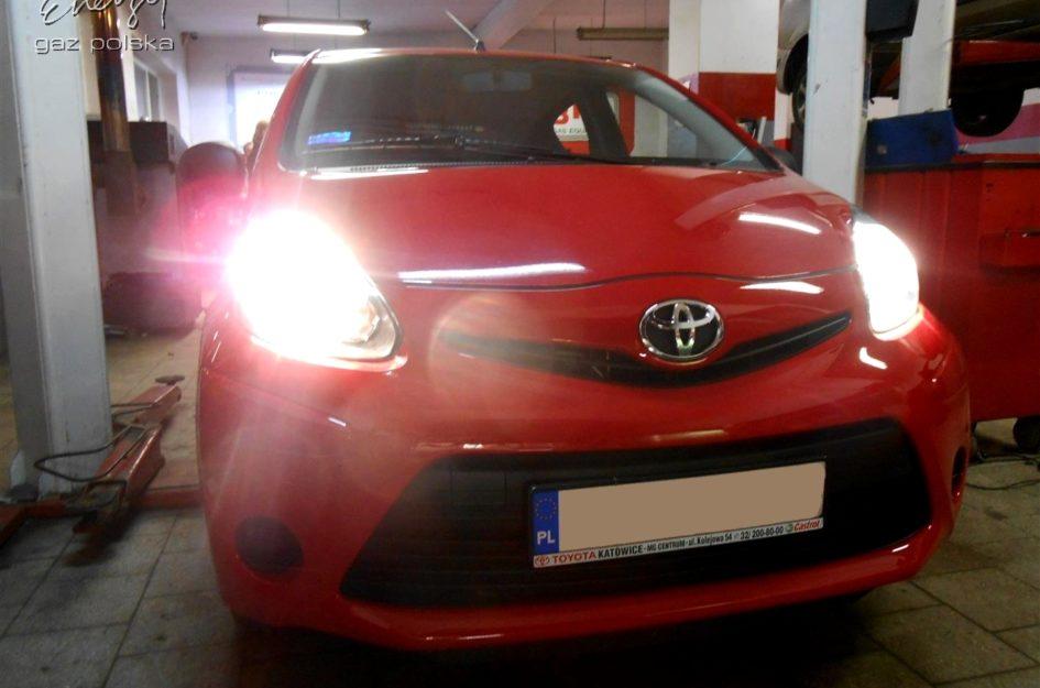 Toyota Aygo 1.2 2012r LPG
