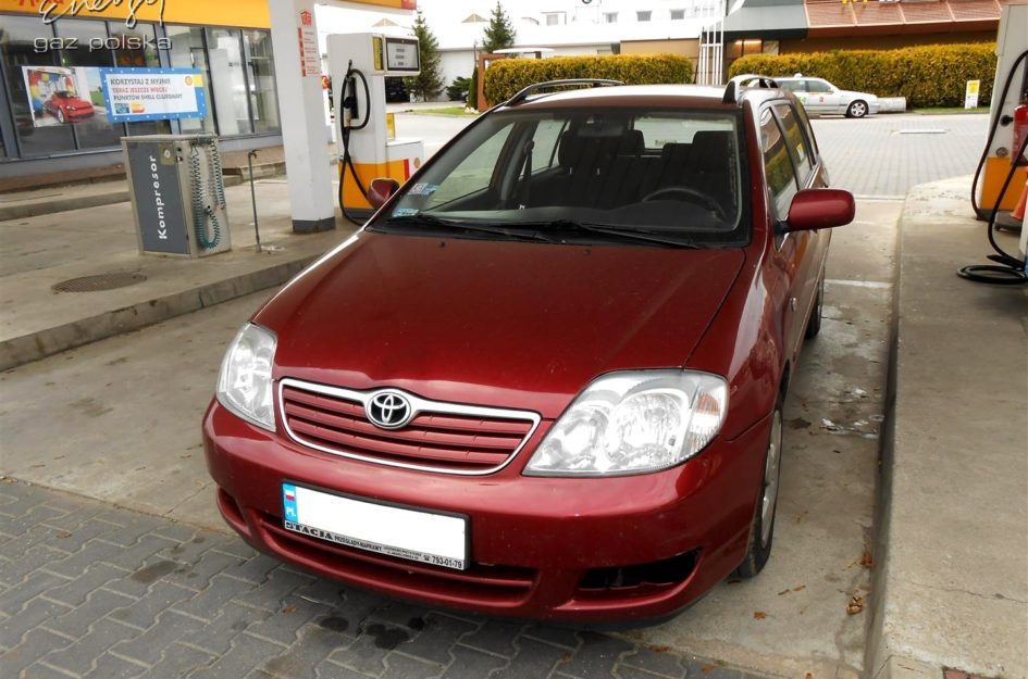 Toyota Corolla 1.6 2004r LPG