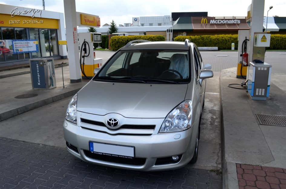 Toyota Corolla Verso 1.8 2006r LPG