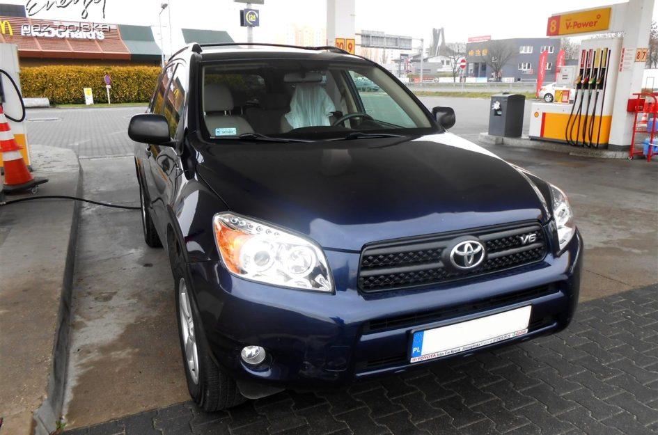 Toyota Rav4 3.5 2006r LPG