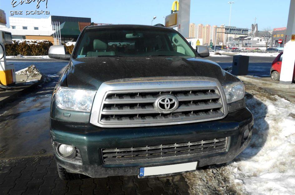 Toyota Sequoia 5.7 2008r LPG