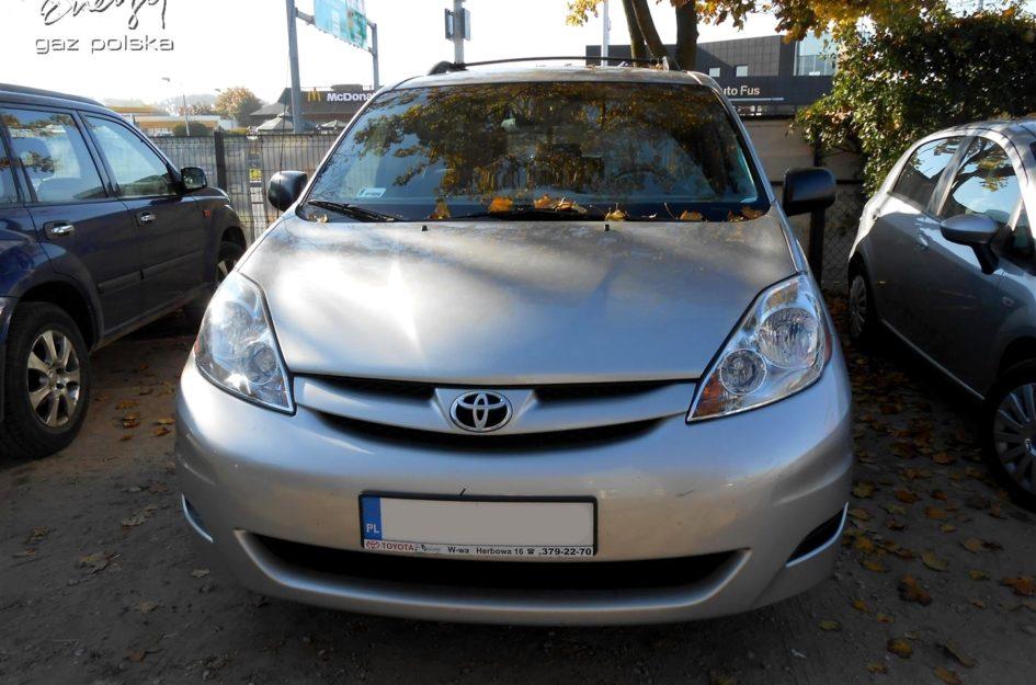 Toyota Sienna 3.5 2007r LPG
