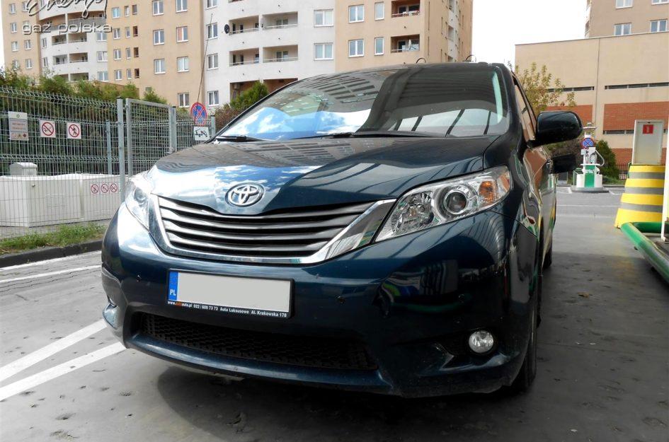 Toyota Sienna 3.5 2012r LPG