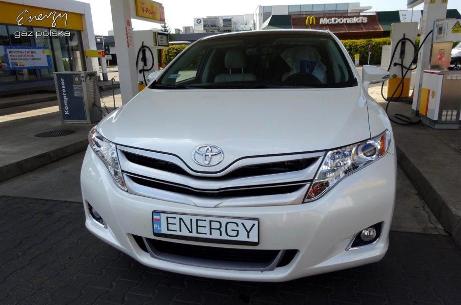 Toyota Venza 2.7 2012r LPG