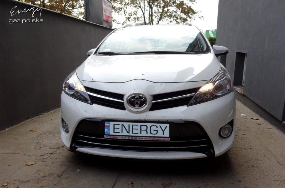 Toyota Verso 1.8 2015r LPG