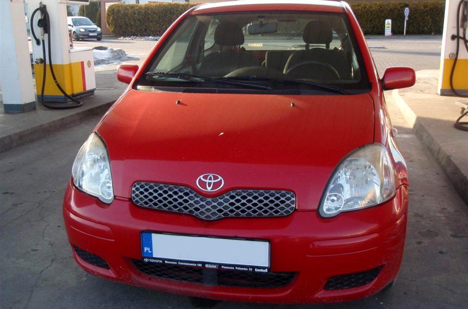 Toyota Yaris 1.0 2004r LPG