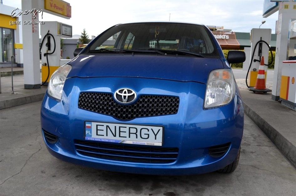 Toyota Yaris 1.0 2007r LPG