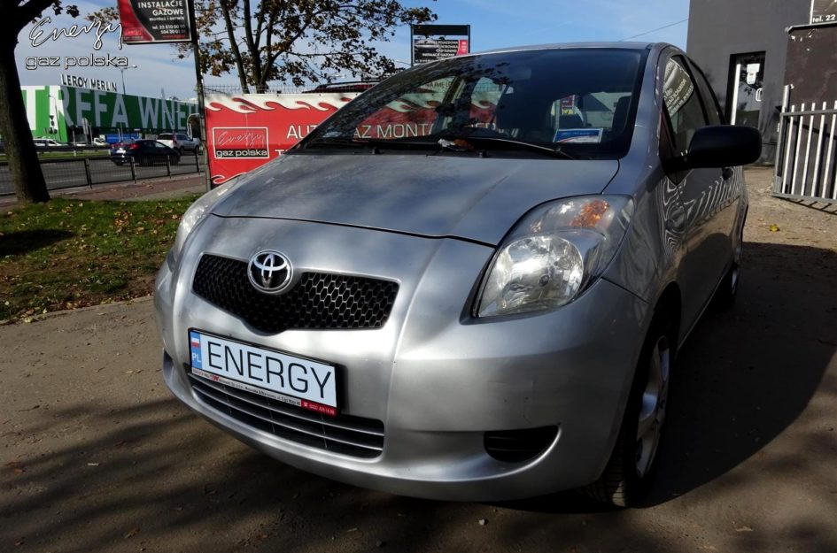 Toyota Yaris 1.3 2006r LPG