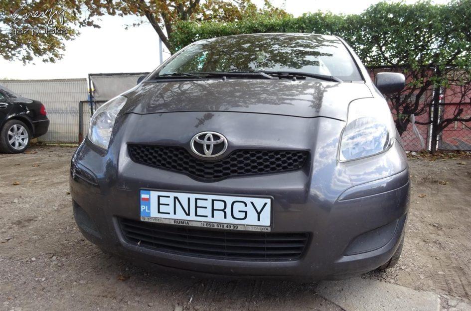 Toyota Yaris 1.3 2009r LPG