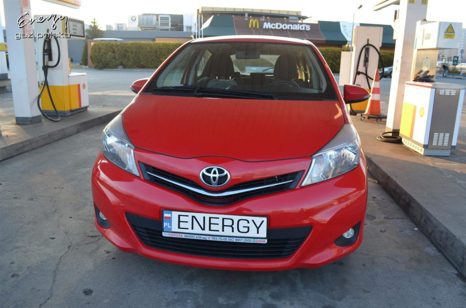 Toyota Yaris 1.3 2012r LPG