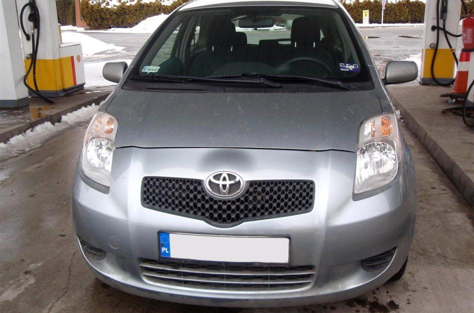 Toyota Yaris 1.5 2007r LPG