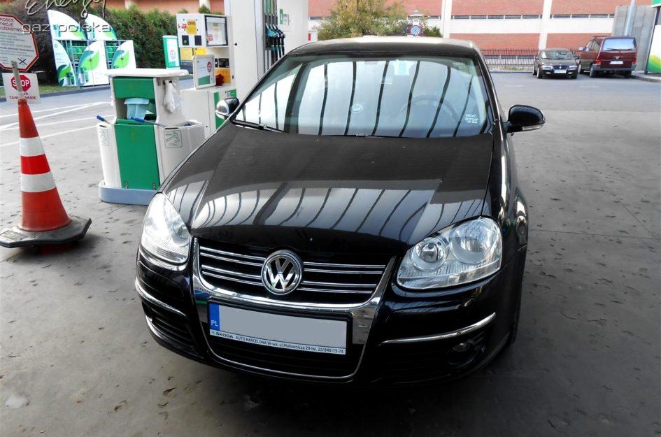 Volkswagen Jetta 1.6 2008r LPG