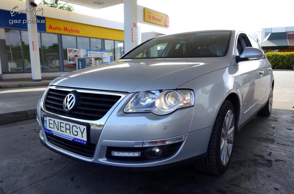 Volkswagen Passat 1.6 2007r LPG