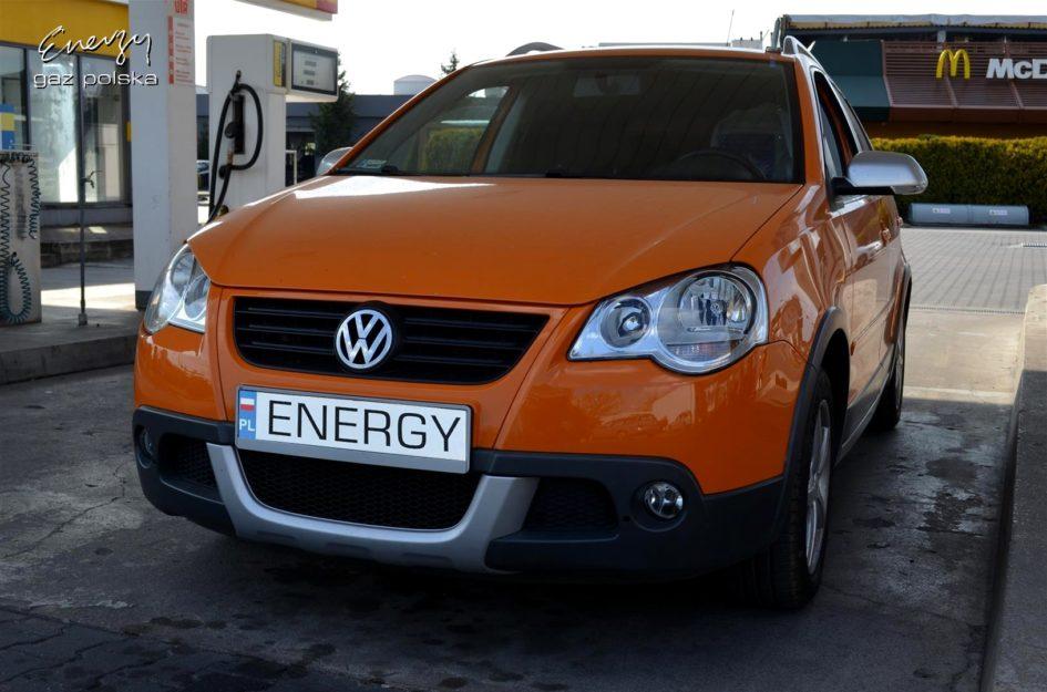 Volkswagen Polo Cross 1.4 2008r LPG
