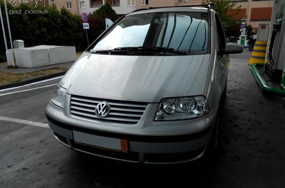 Volkswagen Sharan 2.0 2001r LPG