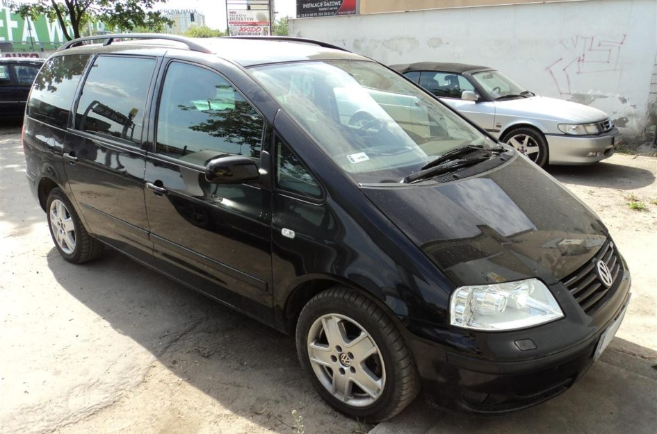 Volkswagen Sharan 2.8 VR6 2001r LPG