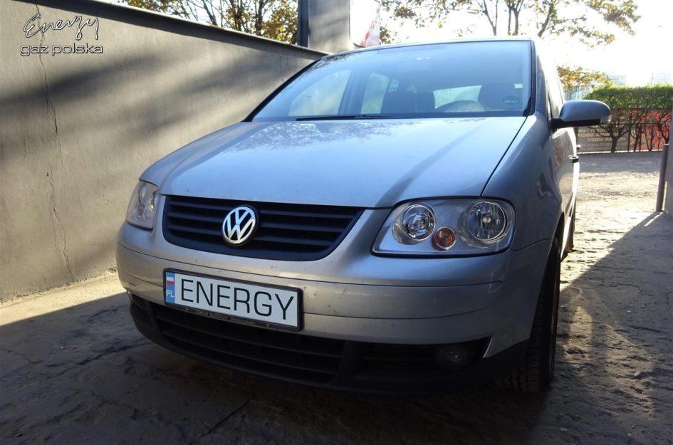 Volkswagen Touran 1.6 FSI 2003r LPG