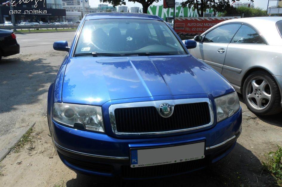 Skoda Superb 2.8 V6 2002r LPG
