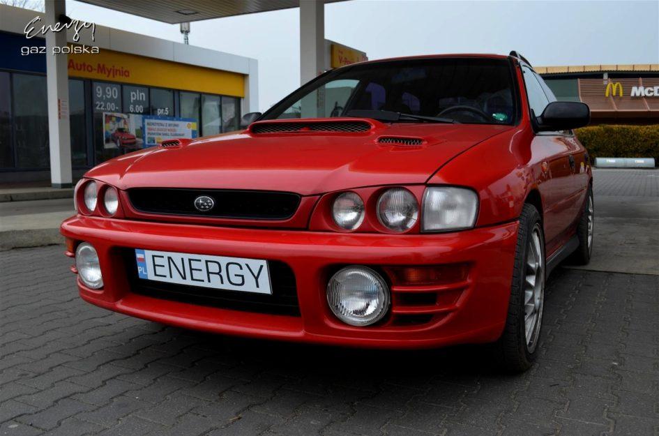Subaru Impreza 2.0T 1997r LPG