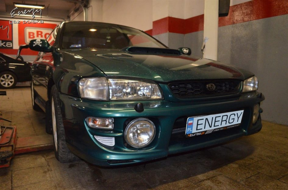 Subaru Impreza 2.0T 1999r LPG