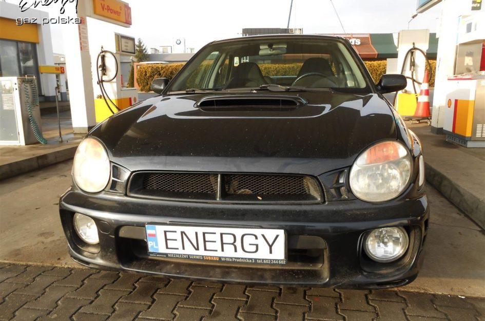 Subaru Impreza 2.0T 2001r LPG