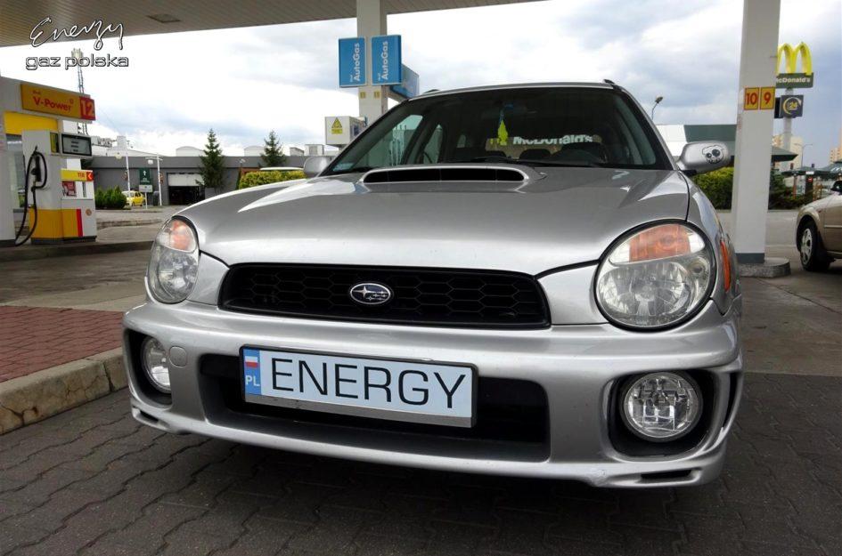 Subaru Impreza 2.0T 2002r LPG
