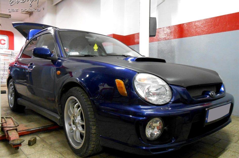 Subaru Impreza WRX 2.0T 2001r LPG