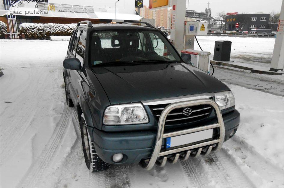 Suzuki Grand Vitara 2.0 2004r LPG