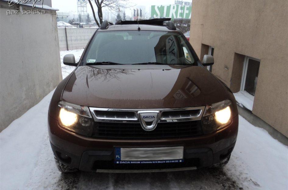 Dacia Duster 1.6 2011r LPG