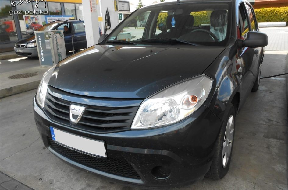 Dacia Sandero 1.4 2008r LPG