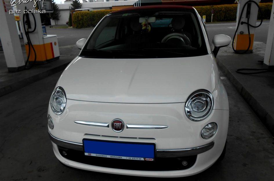 Fiat 500 1.2 2014r LPG