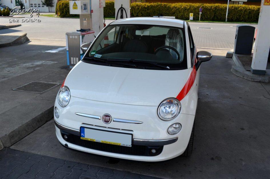 Fiat 500 1.4 2007r LPG