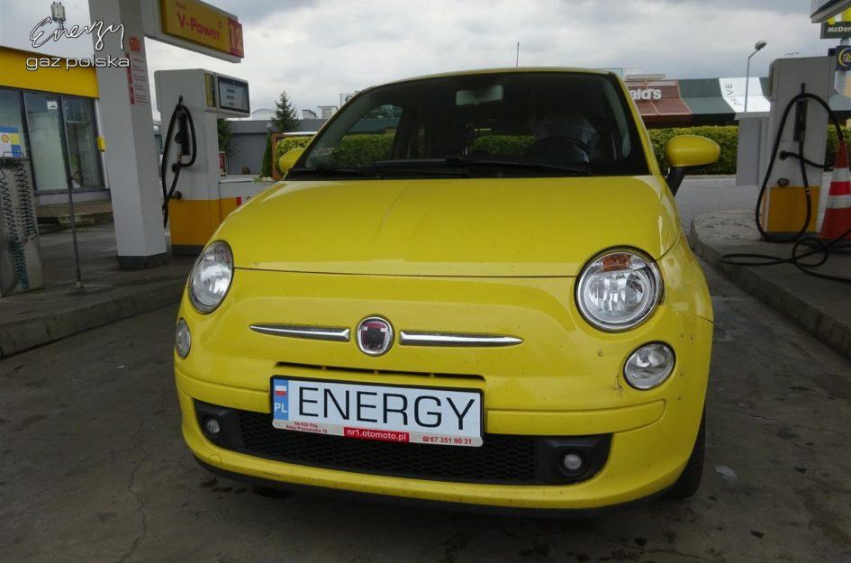 Fiat 500 1.4 2008r LPG