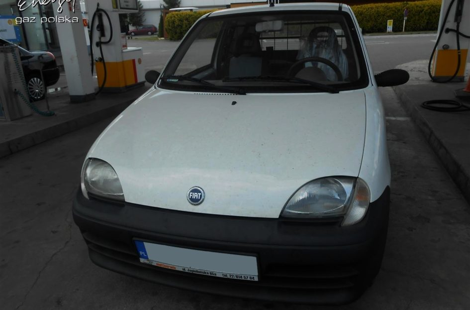 Fiat Seicento 1.1 2004r LPG