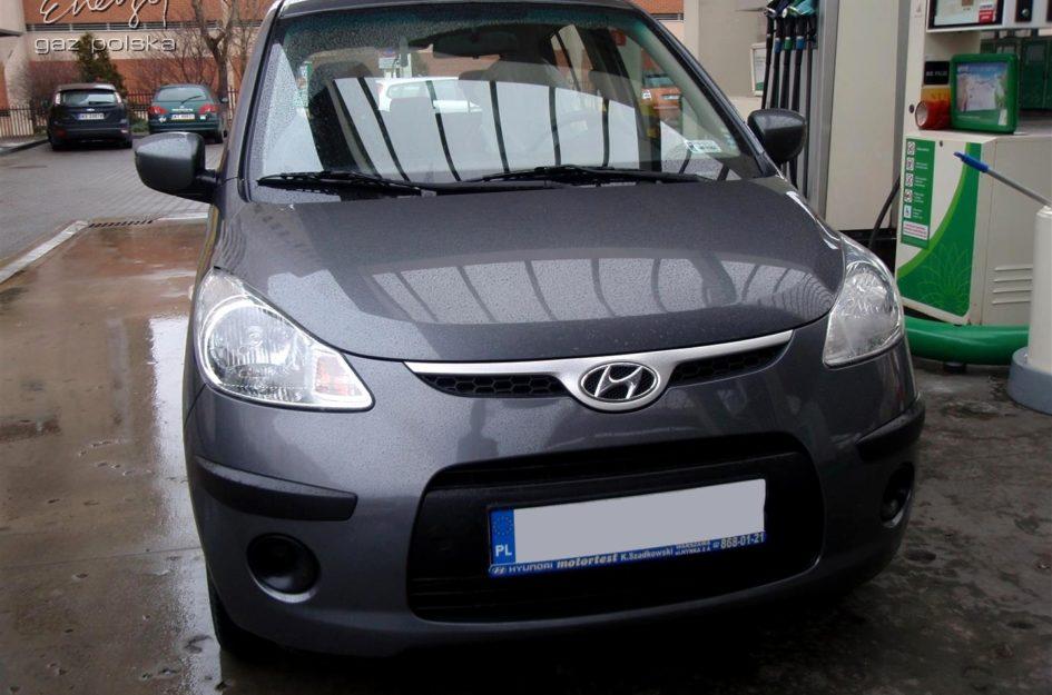 Hyundai i10 1.1 2008r LPG