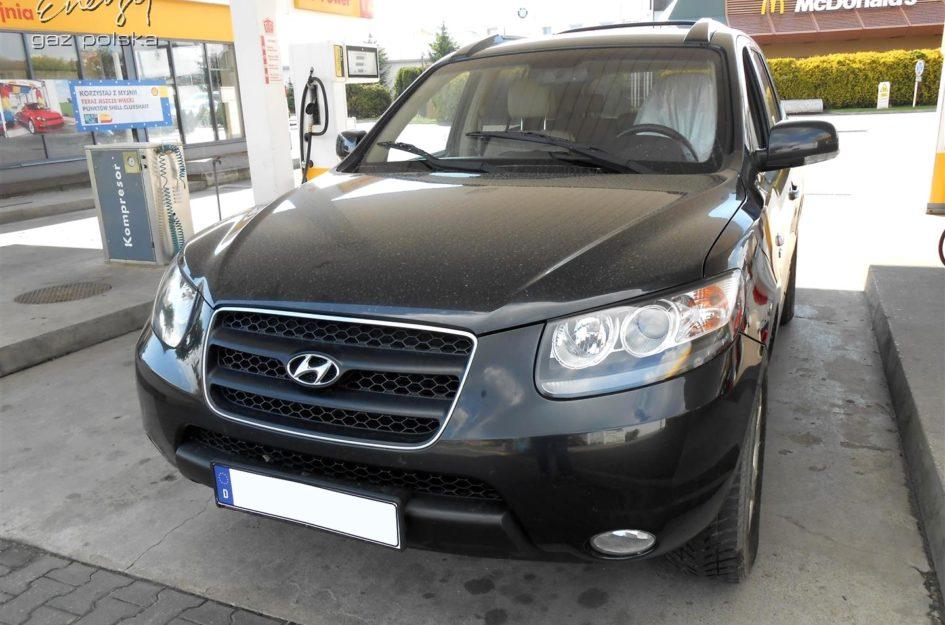 Hyundai Santa Fe 2.7 2008r LPG