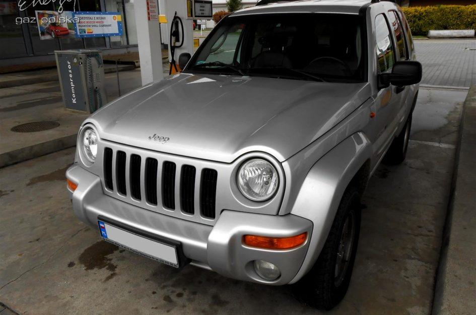 Jeep Cherokee 3.7 2001r LPG