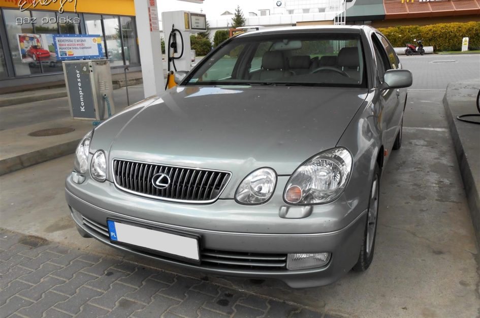 Lexus GS 430 4.3 V8 2001r LPG
