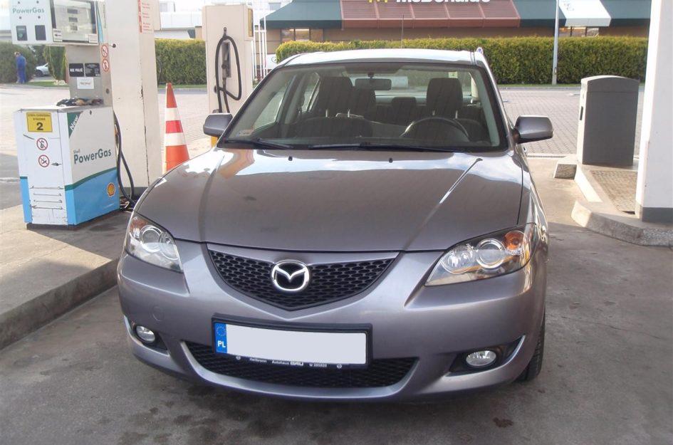 Mazda 3 1.6 2003r LPG