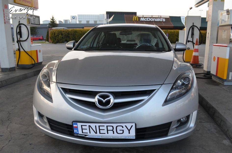 Mazda 6 2.5 2011r LPG
