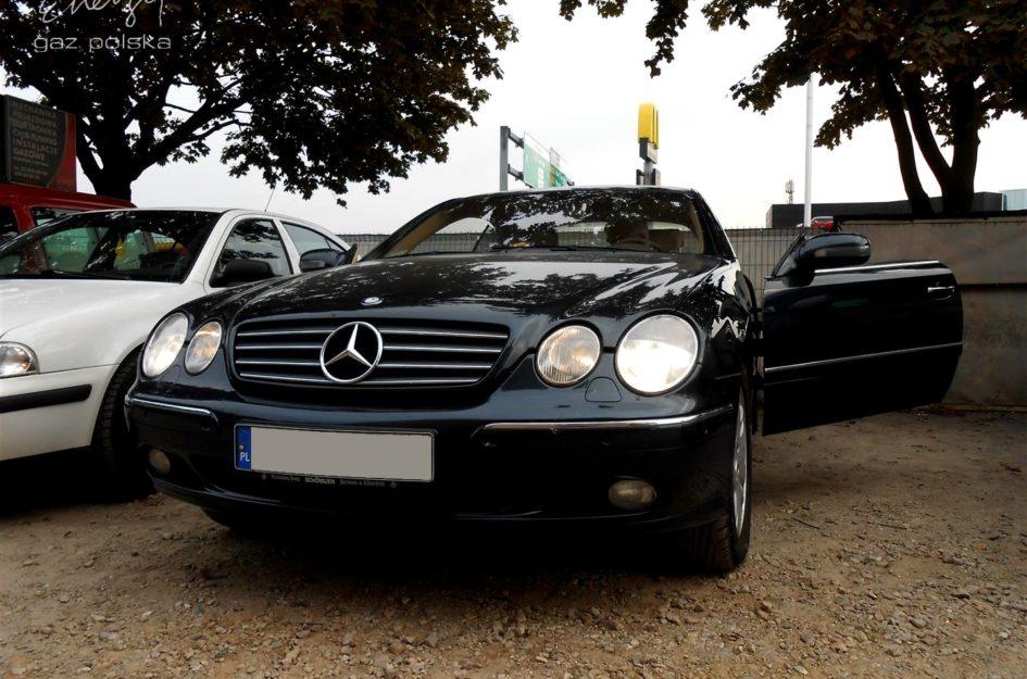 Mercedes CL500 5.0 2000r LPG