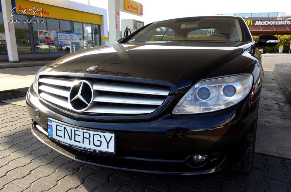 Mercedes CL500 5.5 V8 2007r LPG