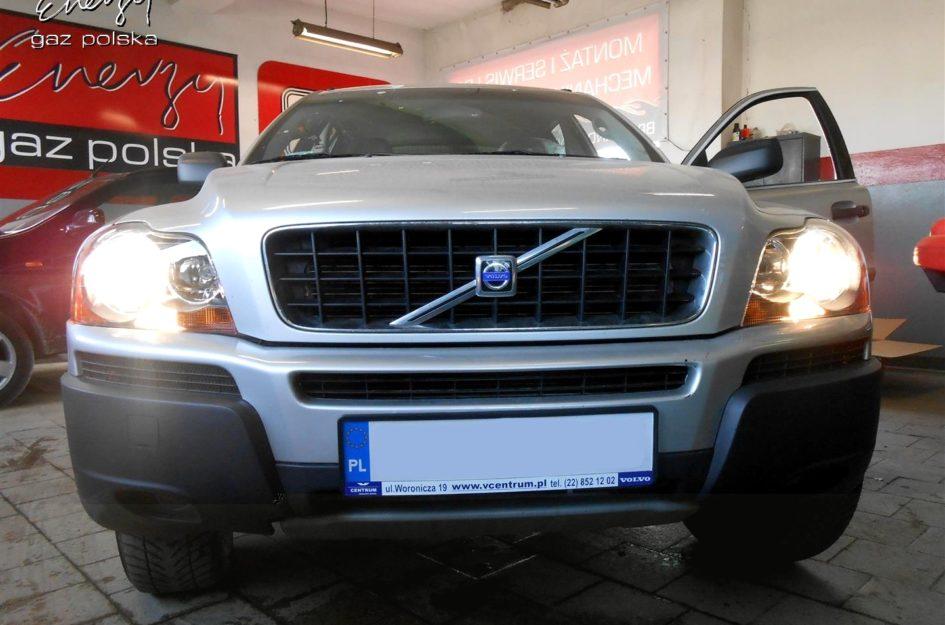 Volvo XC90 2.5 2004r LPG