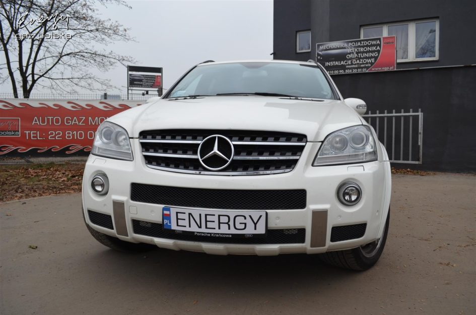 Mercedes ML 63 AMG 6.3 V8 510KM 2007r LPG
