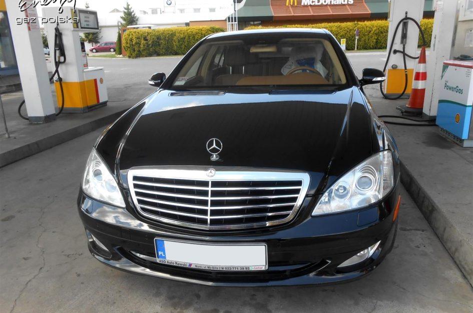 Mercedes S550 5.5 V8 2007r LPG