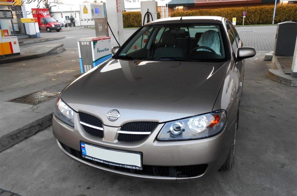 Nissan Almera 1.5 2005r LPG