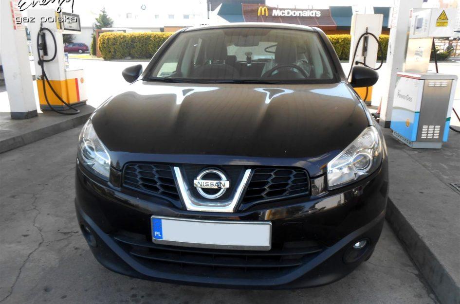 Nissan Qashqai 1.6 2012r LPG