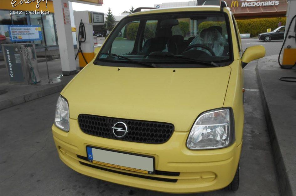 Opel Agila 1.2 2003r LPG