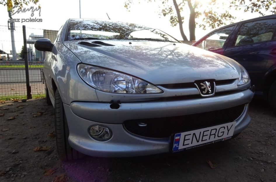 Peugeot 206 1.4 2000r LPG