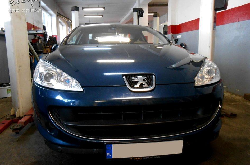 Peugeot 407 3.0 V6 2007r LPG